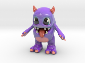 Baby Monster Colored in Glossy Full Color Sandstone