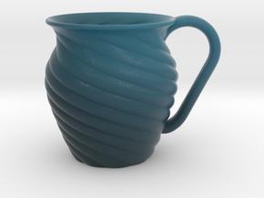 Decorative Mug in Matte Full Color Sandstone