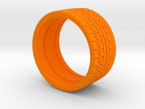 Neova Tire Hexacore Dense in Orange Processed Versatile Plastic