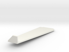 Lancair IV wing LH in White Natural Versatile Plastic