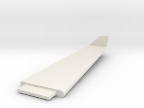 Lancair IV wing RH in White Natural Versatile Plastic