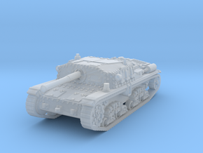 Semovente M42 75/34 1/144 in Smooth Fine Detail Plastic