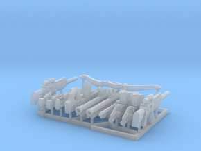 28mm Small Arms Print #2 in Smooth Fine Detail Plastic