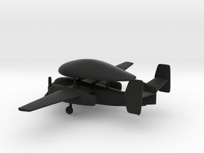 Grumman E-1 Tracer in Black Natural Versatile Plastic: 1:200