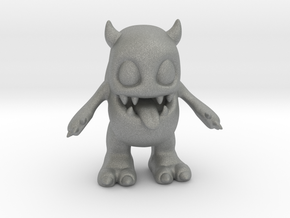 Baby Monster Colored_small in Gray PA12