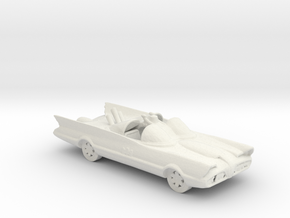 1966 Batmobile 160 scale in White Natural Versatile Plastic