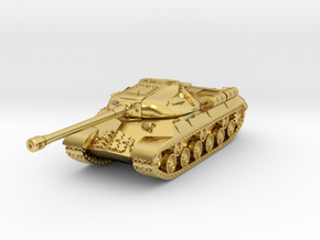IS-3 / Object 703 - size S in Polished Brass