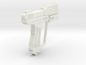 1:6 Miniature Halo Rach Magnum Gun  in White Natural Versatile Plastic