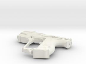 1:3 Miniature Halo 5 Magnum in White Natural Versatile Plastic