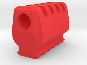 J.W. Compensator V2 (16mm-) in Red Processed Versatile Plastic