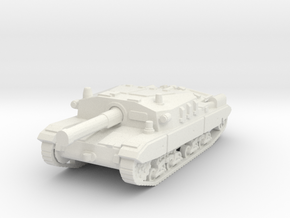 Semovente M43 105 1/100 in White Natural Versatile Plastic
