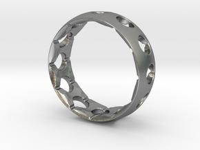 Original Aero Ring in Natural Silver