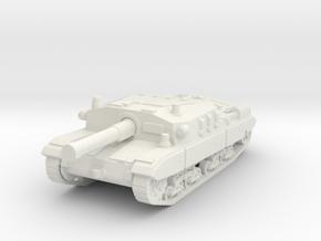 Semovente M43 105 1/87 in White Natural Versatile Plastic