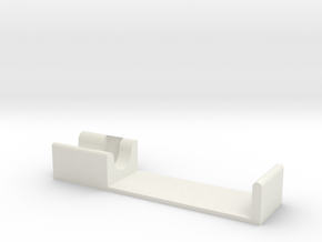 C-clip pen holder in White Natural Versatile Plastic