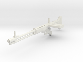 1:12 Miniature Fallschirmjagergewehr FG 42-1 in White Natural Versatile Plastic: 1:12