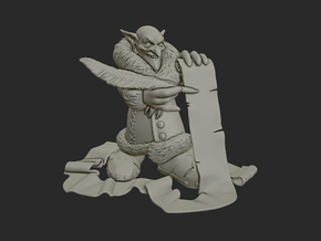 Goblin Landlord in Smooth Fine Detail Plastic