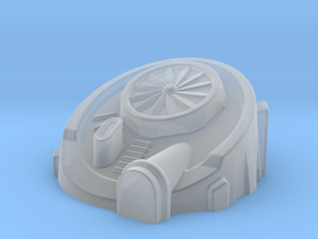 Terra-forming Building (2mm / 3mm Scale) in Smooth Fine Detail Plastic