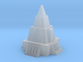2mm / 3mm Simple Temple in Smooth Fine Detail Plastic