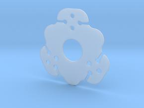 NicNac'3 | B in Smooth Fine Detail Plastic