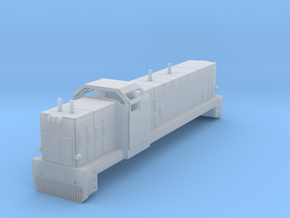 Swedish SJ diesel locomotive type T41 - N-scale in Smooth Fine Detail Plastic