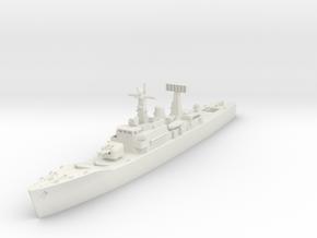 Leander Class Frigate (cold war) in White Natural Versatile Plastic: 1:600