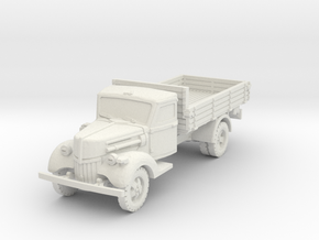 Ford V3000 early (open) 1/56 in White Natural Versatile Plastic
