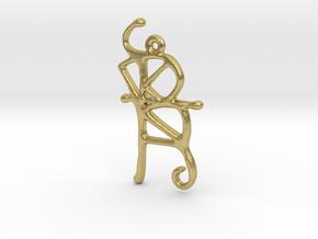 Sigil in Natural Brass