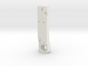 T6 Friction Lock plate #2 in White Natural Versatile Plastic