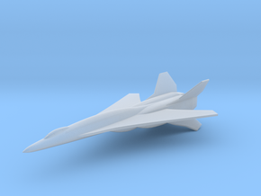 A/S-78A Activator Space Fighter in Smooth Fine Detail Plastic: 6mm
