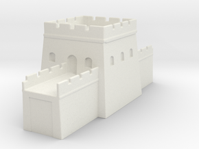 the grat wall of china 6mm 1/285  tower s in White Natural Versatile Plastic