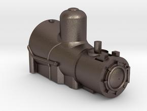 Steel Boiler for Coffee Creek Light Shay in Polished Bronzed-Silver Steel