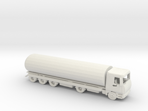 N Scale Tanker in White Natural Versatile Plastic