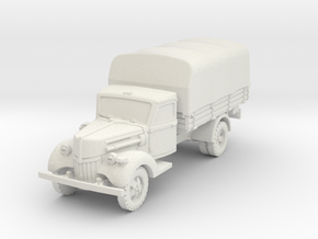 Ford V3000 early (covered) 1/100 in White Natural Versatile Plastic