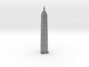 Jin Mao Tower - Shanghai (6 inch) in Gray PA12