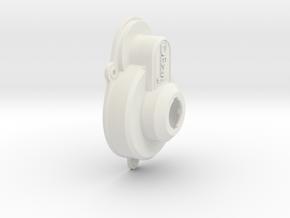 VRC Collin DB211x Gear Box Cover in White Natural Versatile Plastic