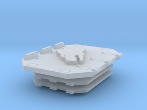 Fire Dragons Jericho Tank Doors set #2 in Smooth Fine Detail Plastic