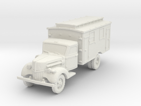 Ford V3000 Ambulance early 1/100 in White Natural Versatile Plastic