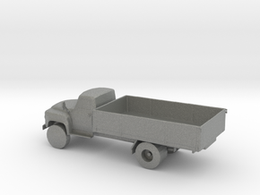 HO Scale Flat Bed Truck in Gray PA12