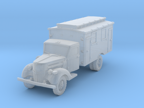 Ford V3000 Ambulance early 1/200 in Smooth Fine Detail Plastic