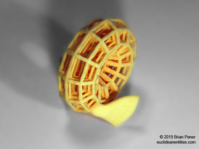 Royal-Torus in Yellow Processed Versatile Plastic