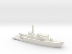 Gaeta class minehunter, 1/1250 in White Natural Versatile Plastic