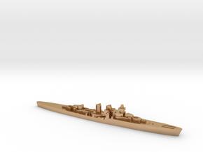 Giuseppe Garibaldi light cruiser 1:3000 WW2 in Natural Bronze