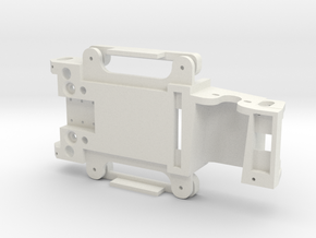 Chassis 124 M1 Procar Revell 18D in White Natural Versatile Plastic