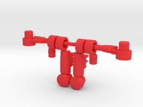 Lobros Arms in Red Processed Versatile Plastic