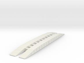 M60 AVLB Bridge 1/100 in White Natural Versatile Plastic