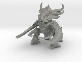 Starcraft Ultralisk 80mm miniature monster model2 in Gray PA12