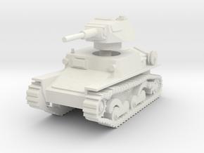 L6 40 Light tank 1/56 in White Natural Versatile Plastic