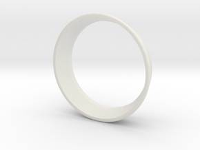 lens cover in White Natural Versatile Plastic