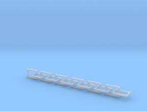 Handles Square Bases: Large (24pc) in Smooth Fine Detail Plastic