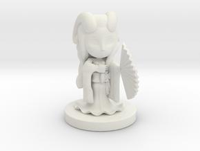 Demon Warlock Fehria in White Natural Versatile Plastic